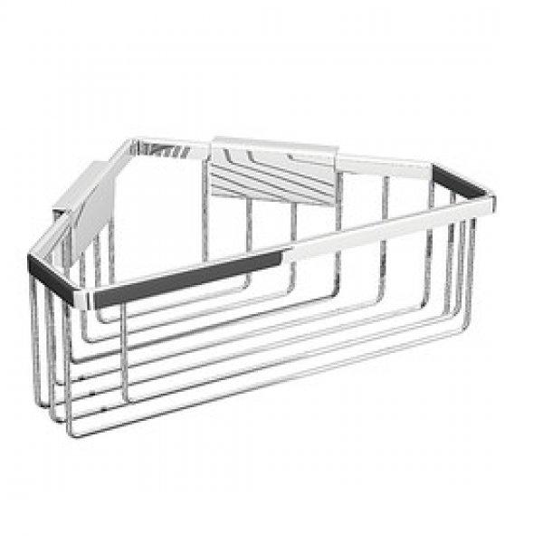 eck duschkorb doppelt 64 99. Black Bedroom Furniture Sets. Home Design Ideas