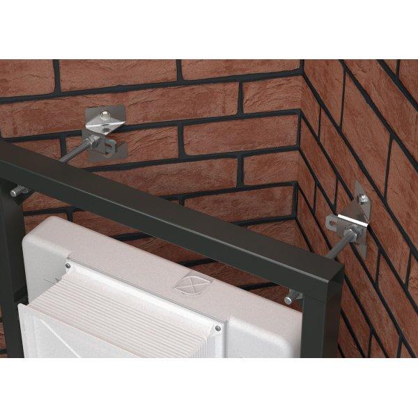 wc element 1200 d zerlegbar alca 114 50. Black Bedroom Furniture Sets. Home Design Ideas